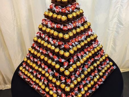 Lindt Lindor and Ferrero Rocher Pyramid