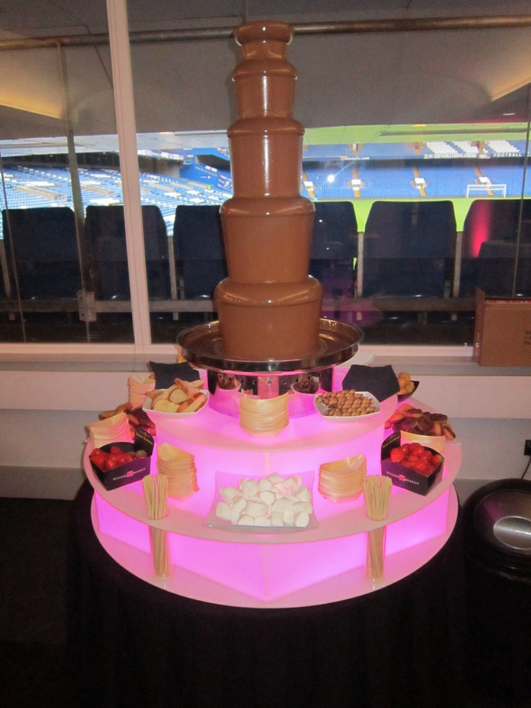 chocolate fountain hire london event