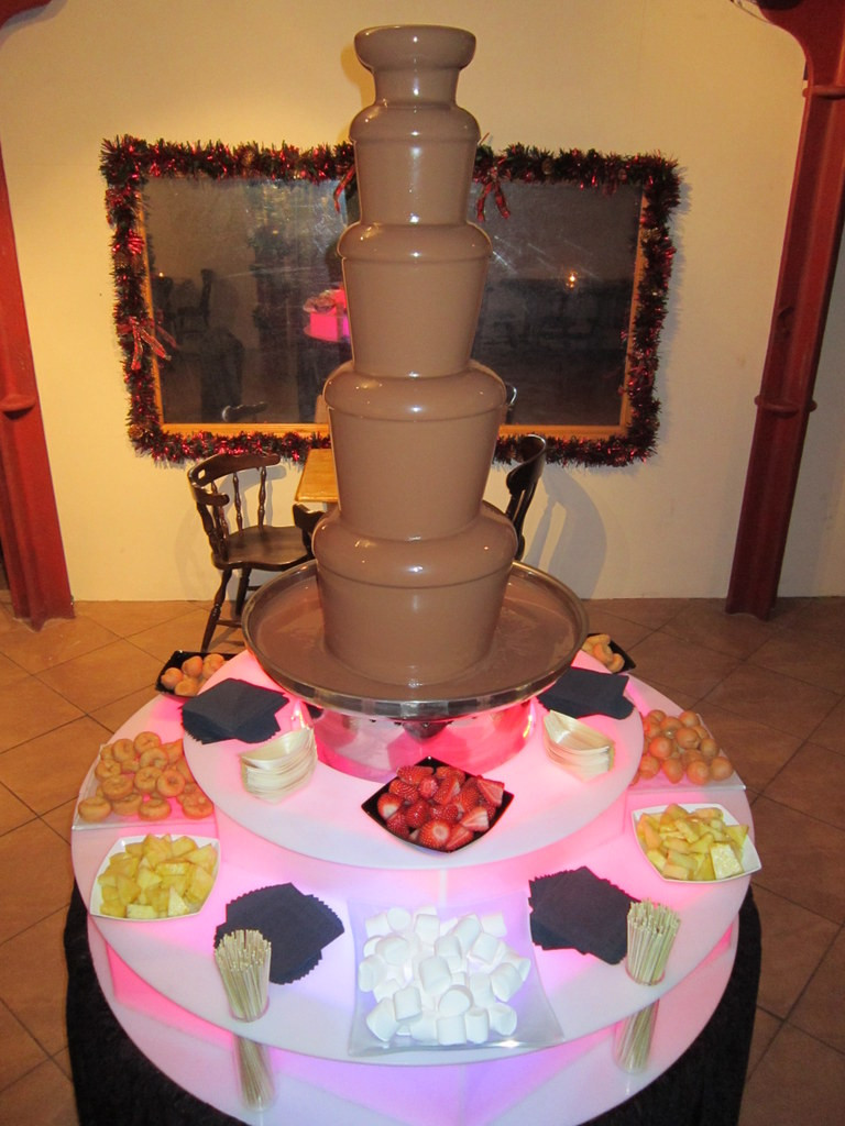 chocolate fountain hire event