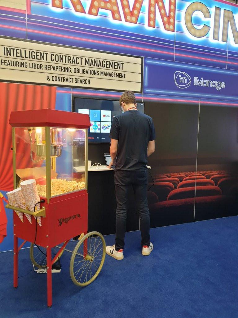 popcorn exhibition hire