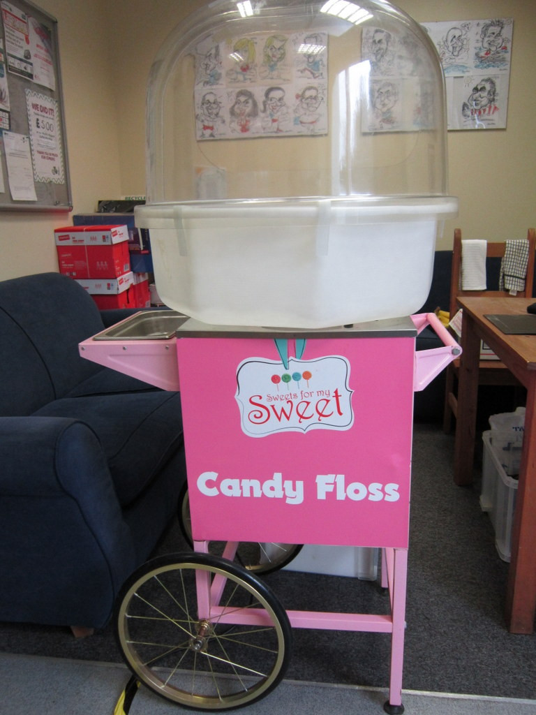 candy floss office hire