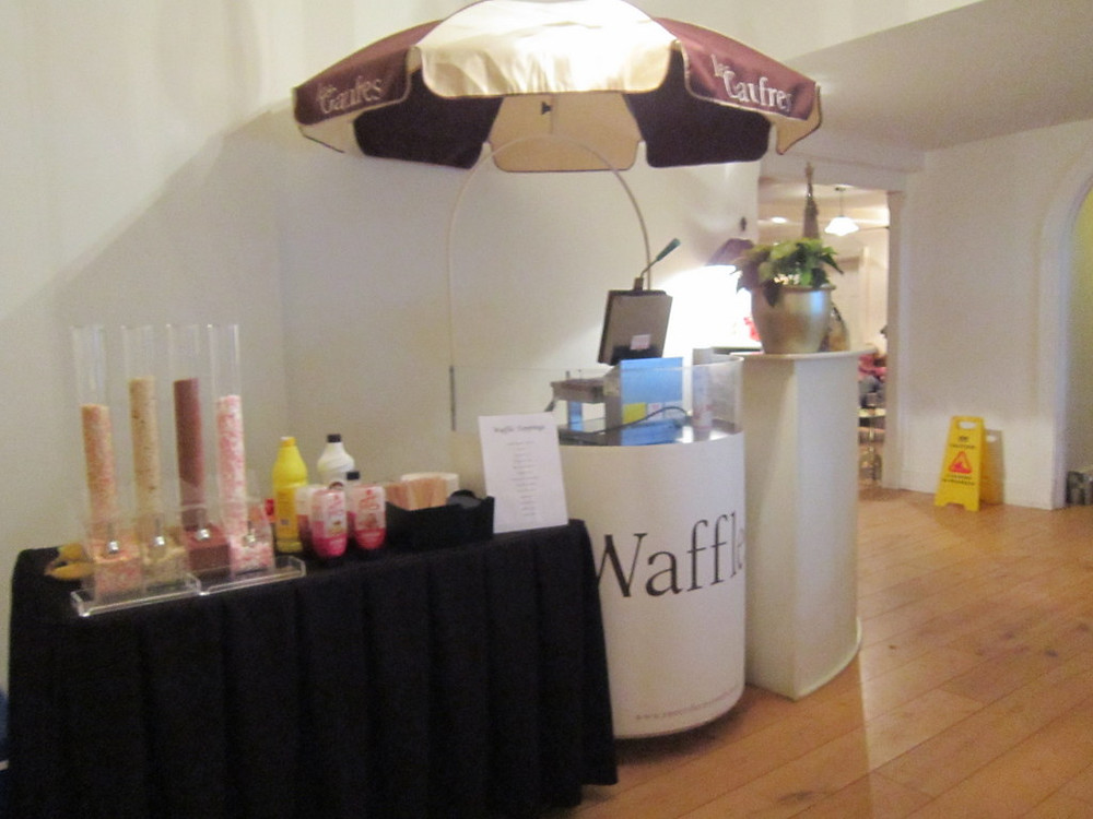 hire waffle cart east sussex