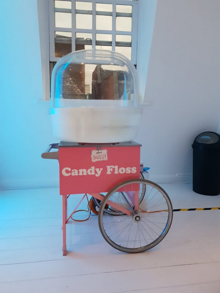 candy floss hire london