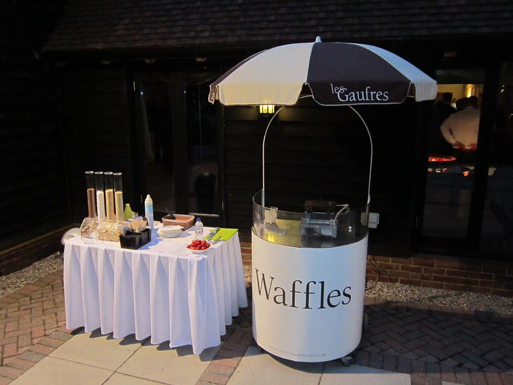 waffle machine hire wedding