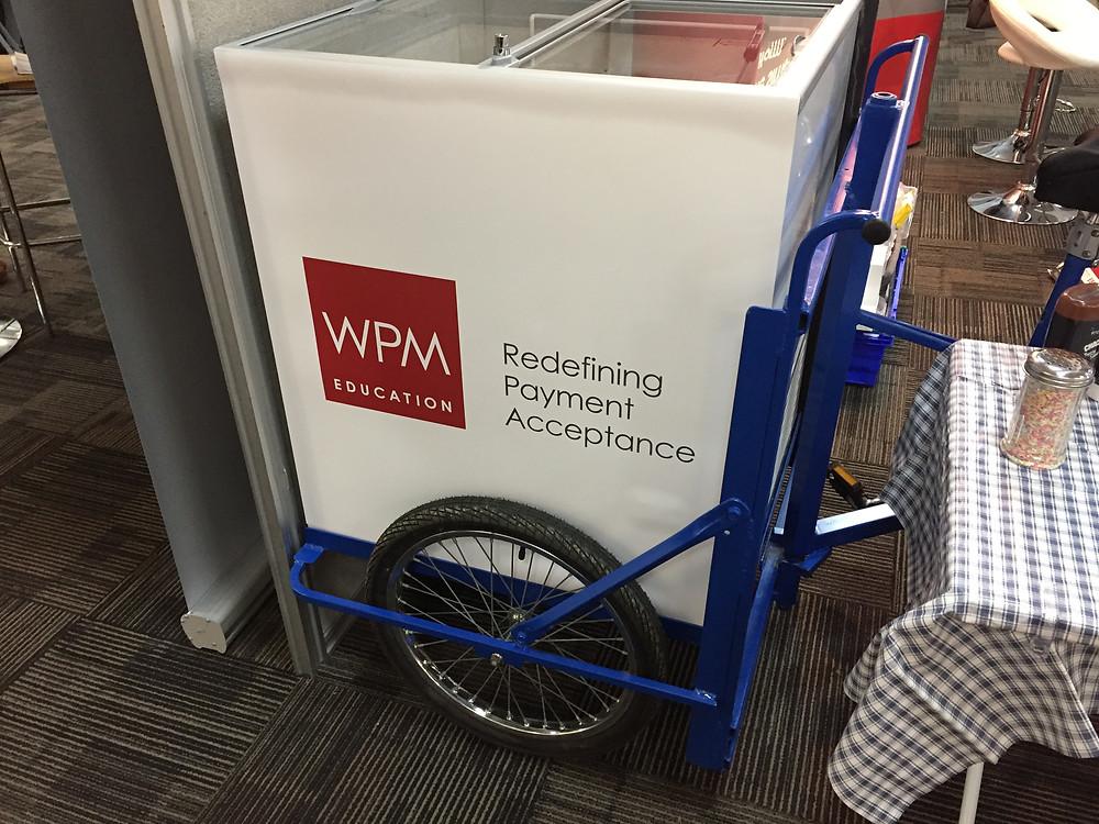 corporate ice cream tricycle