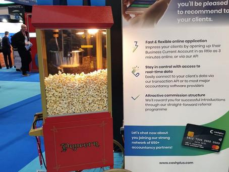 Popcorn hire London ExCel