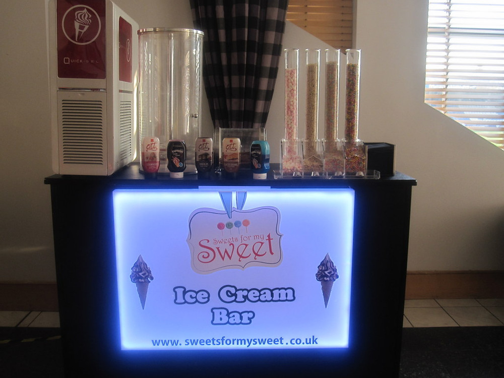 indoor ice cream hire