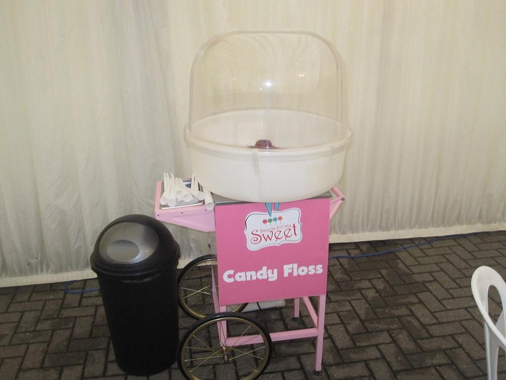 candy floss cart hire leeds