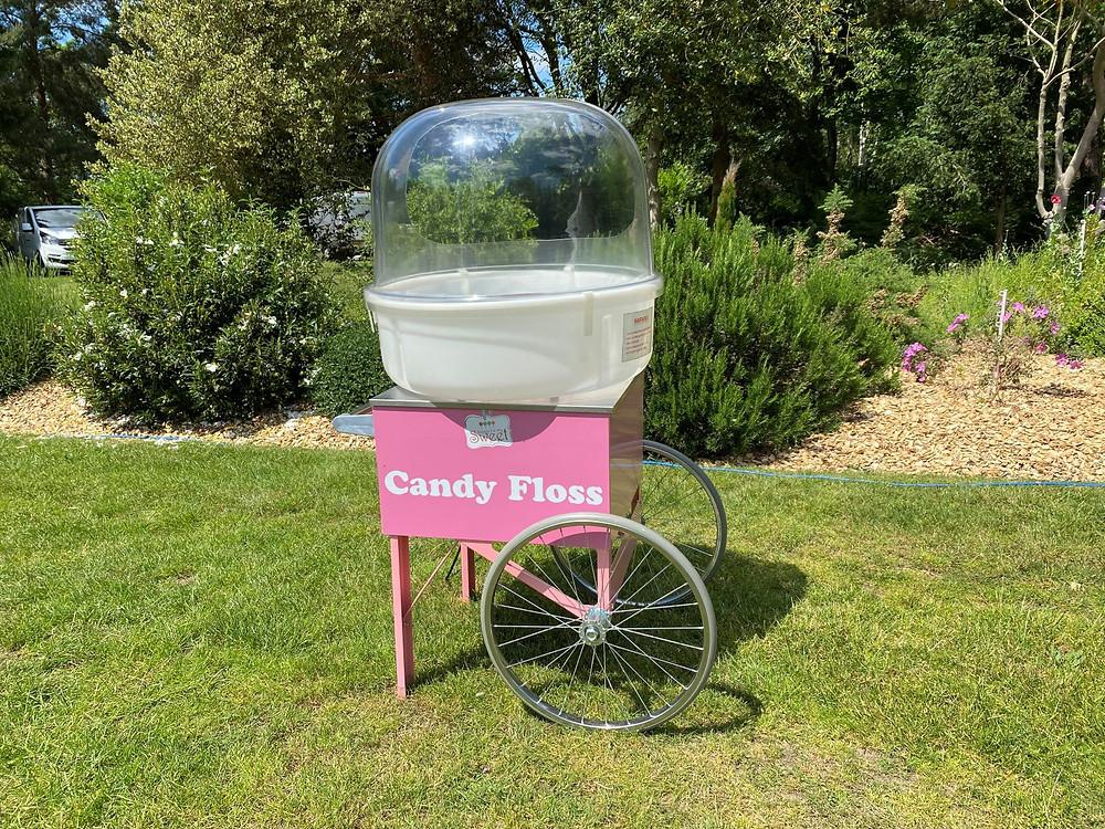 cotton candy hire London Surrey Kent