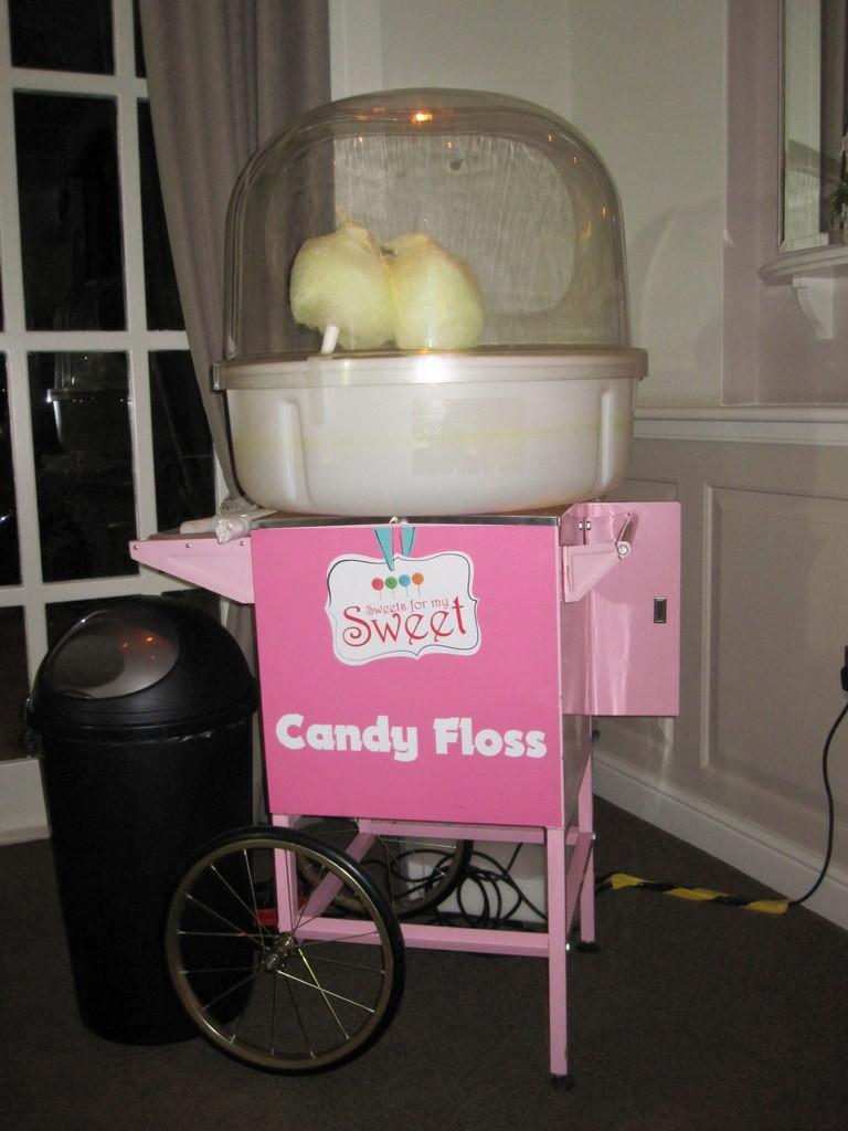 candy floss hire kent wedding