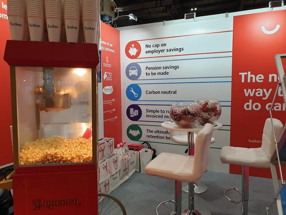 popcorn hire corporate