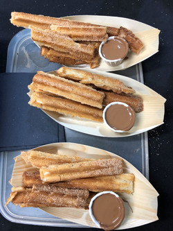 mobile churros van hire