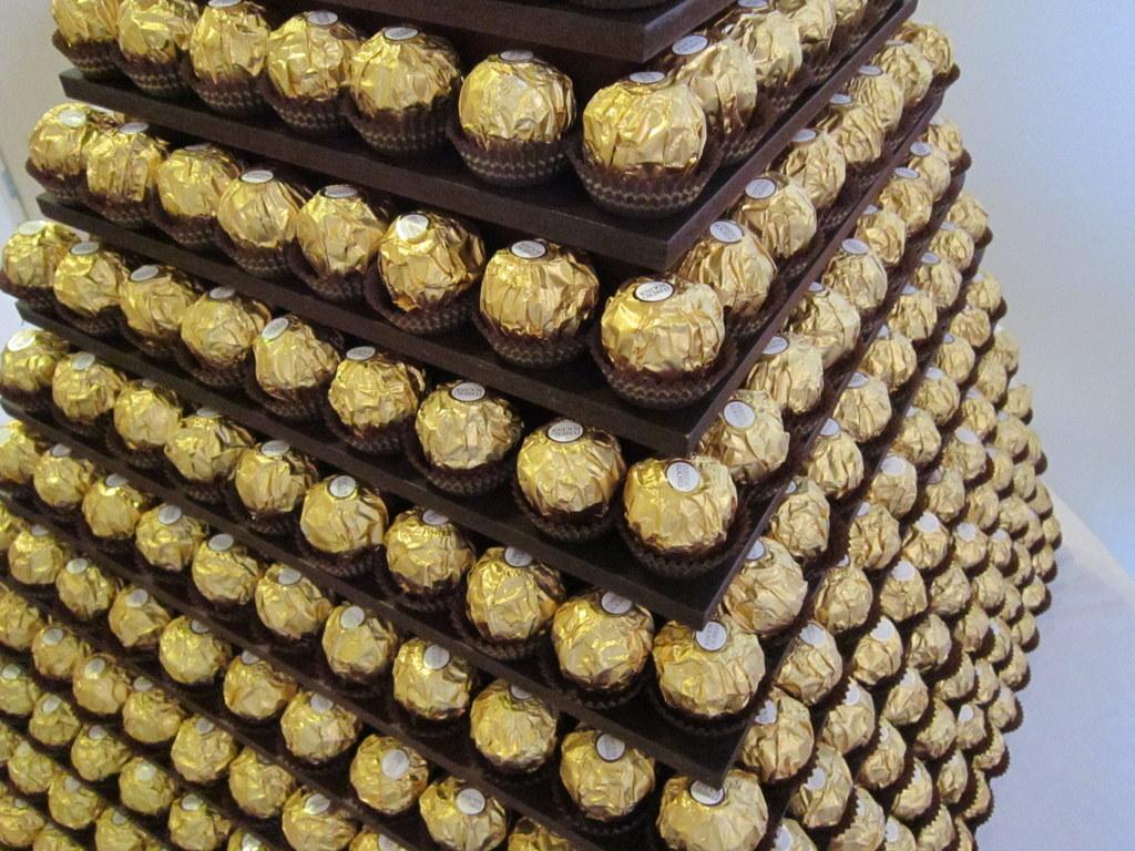 gold-chocolate-pyramid-kent-hire