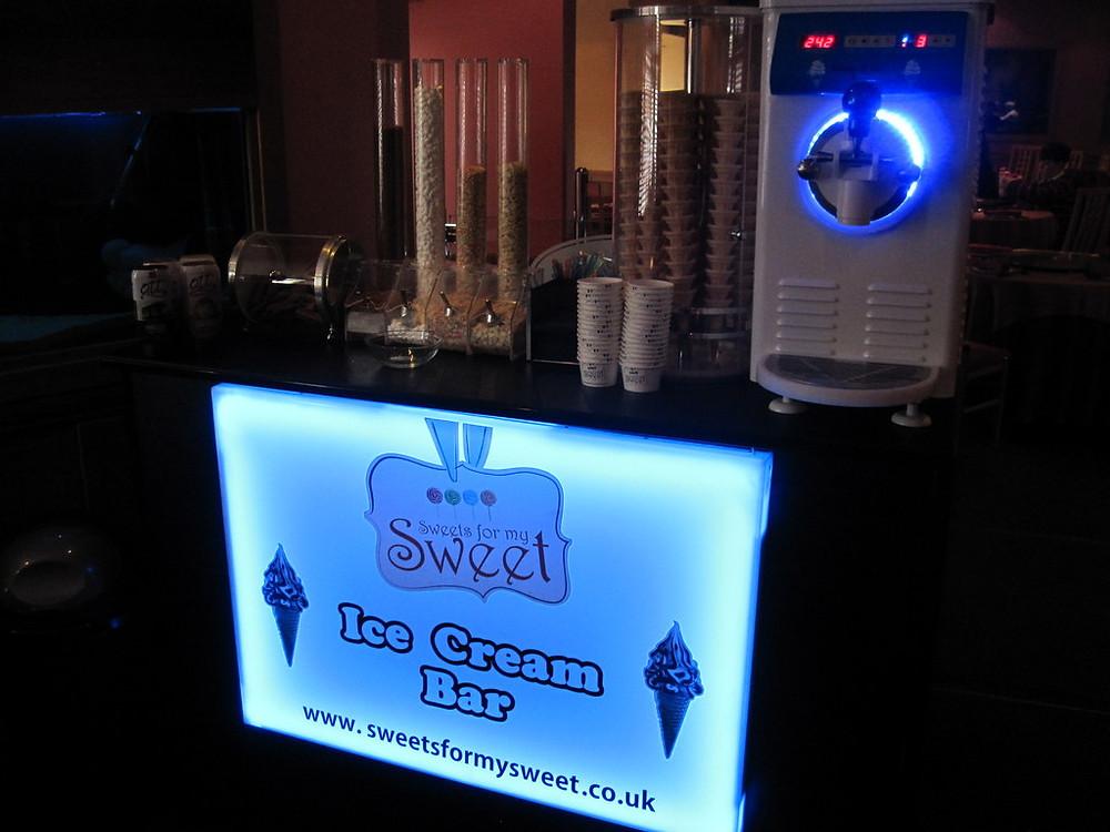 ice cream hire wedding