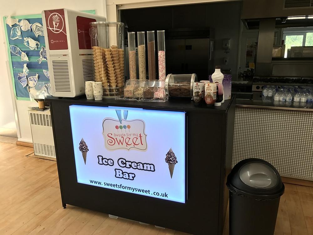 ice cream machine hire kent