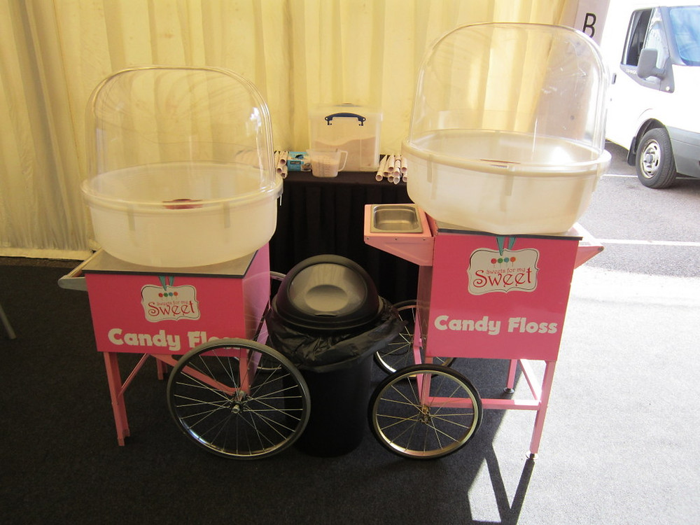 candy floss london hire