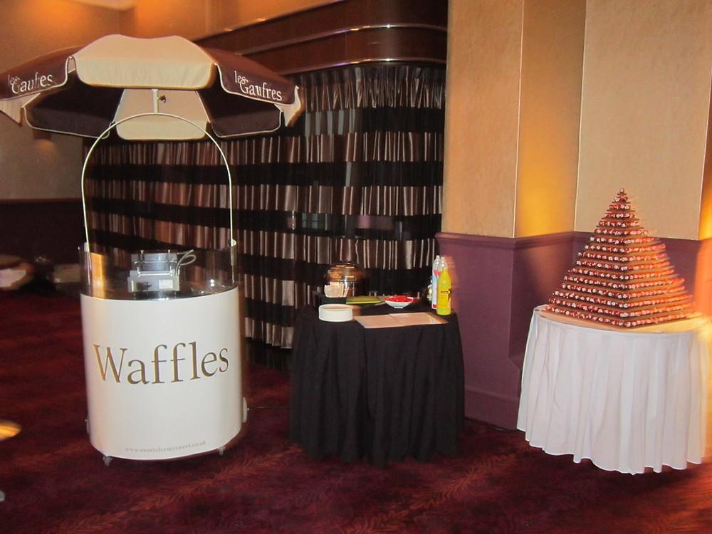 hire waffle machine kent