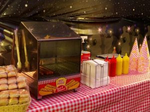 hot dog stand hire kent