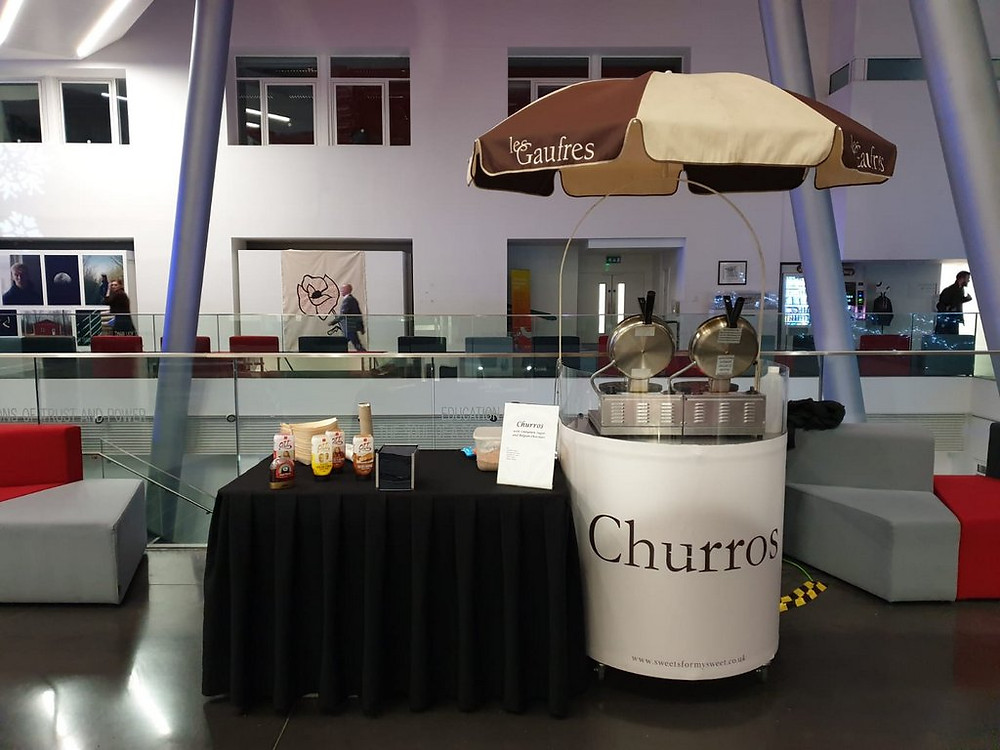 churros cart hire central london