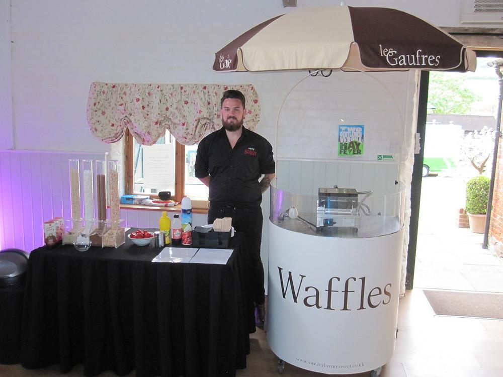waffles cart hire kent
