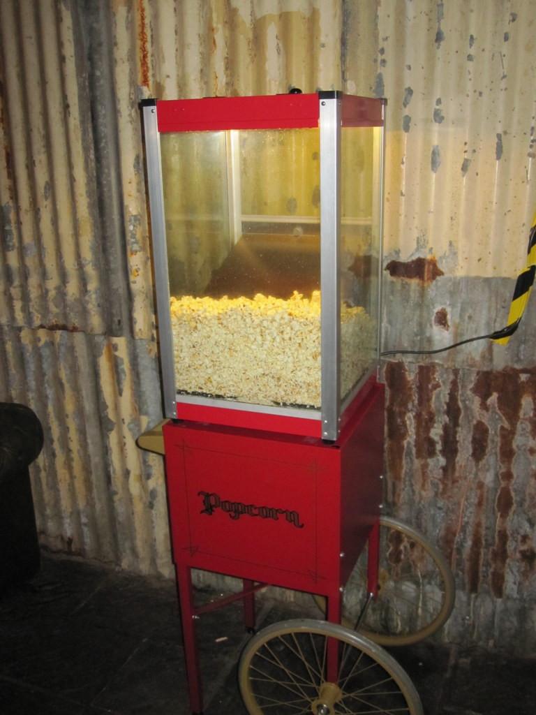 london pop corn cart hire