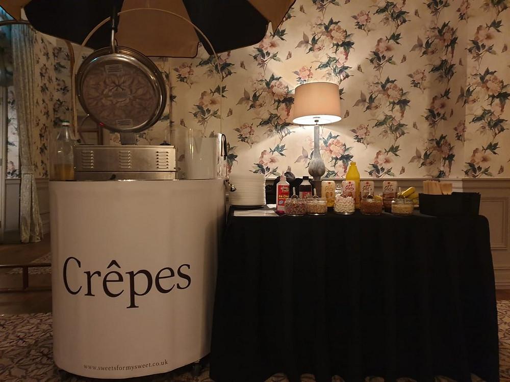 crepe machine hire