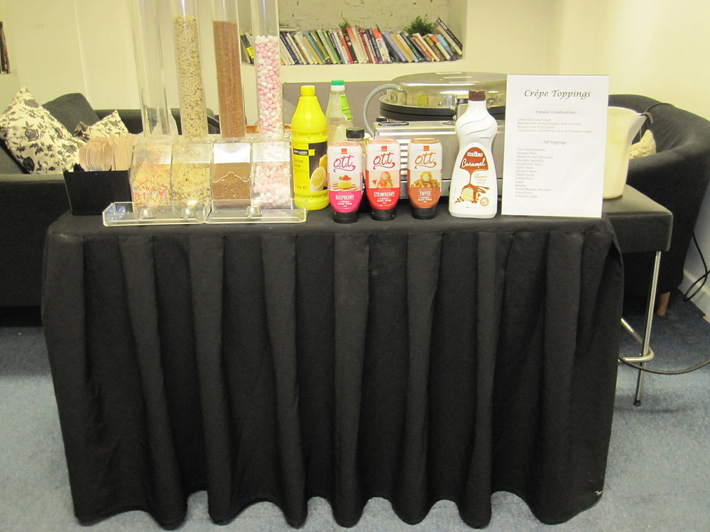 manchester crepe cart hire