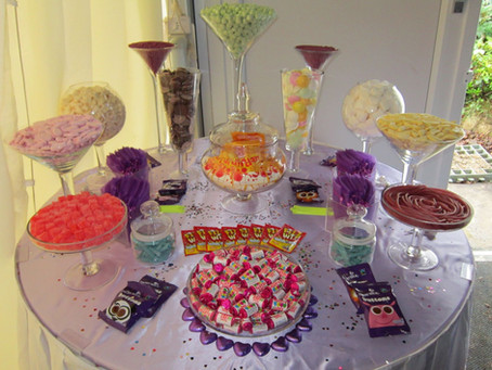 sweets table hire