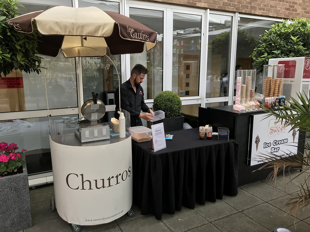 london churros cart hire