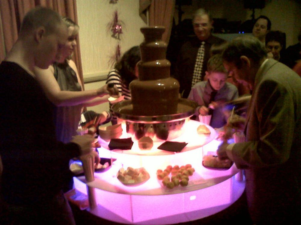 wedding chocolate fountains