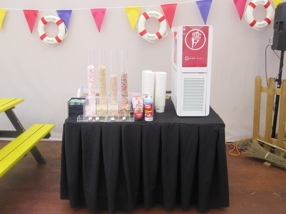 icecream machine hire