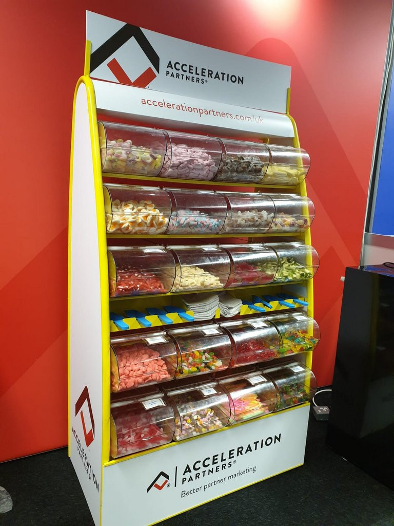 corporate sweet stand