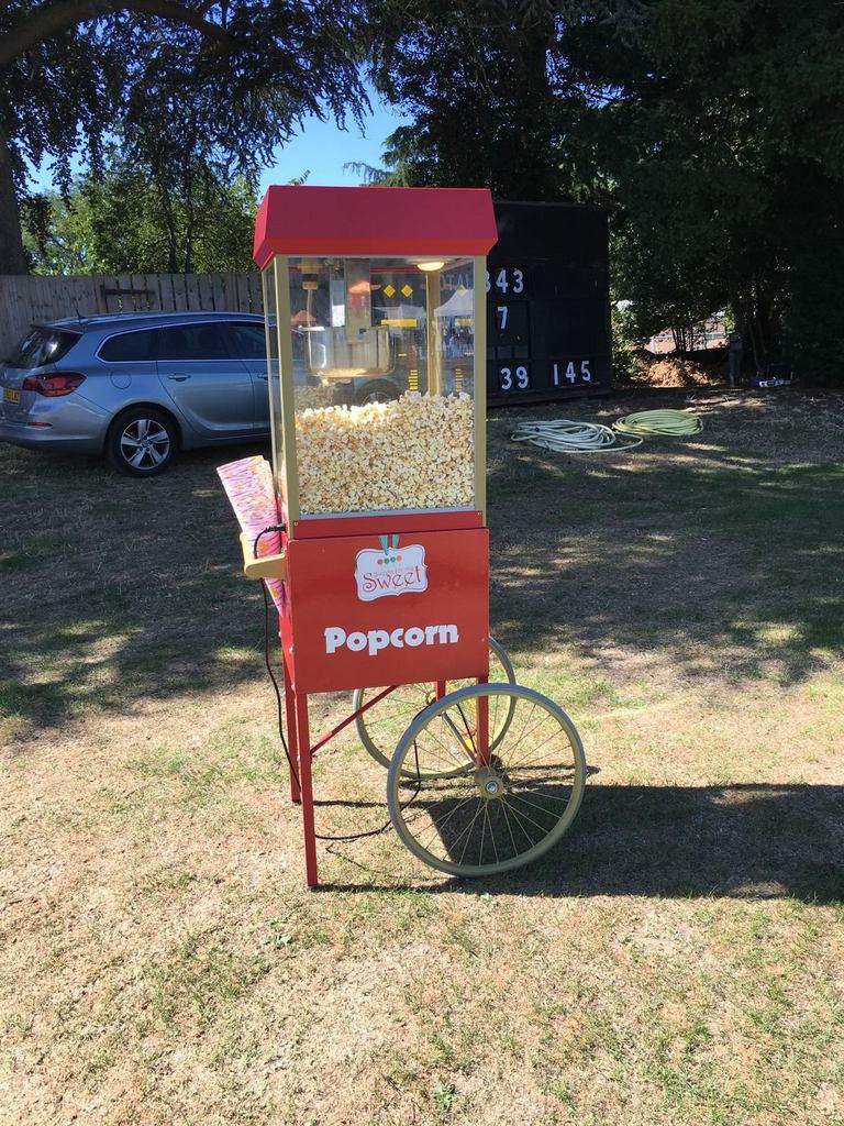 popcorn machine hire bromley