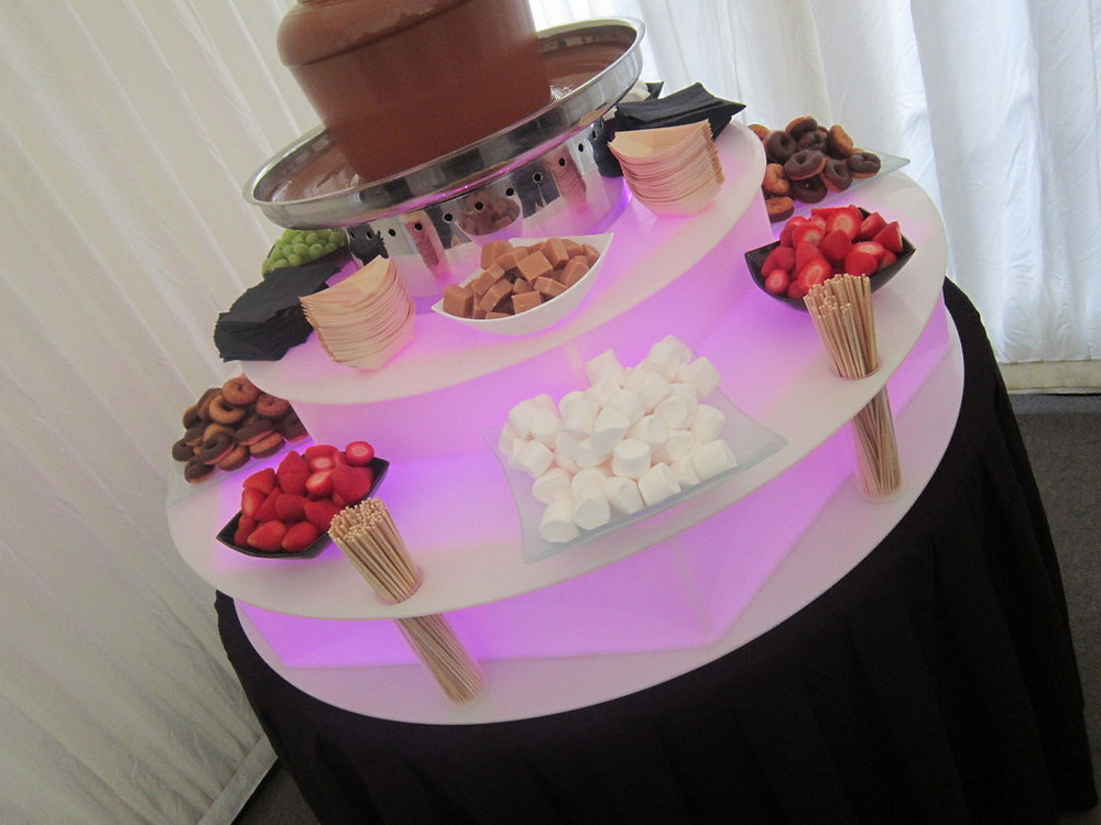chocolate fountain hire midlands