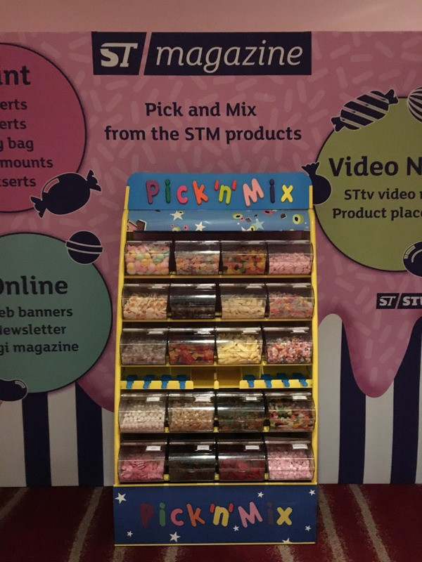 pick n mix sweets stand hire exhibition london