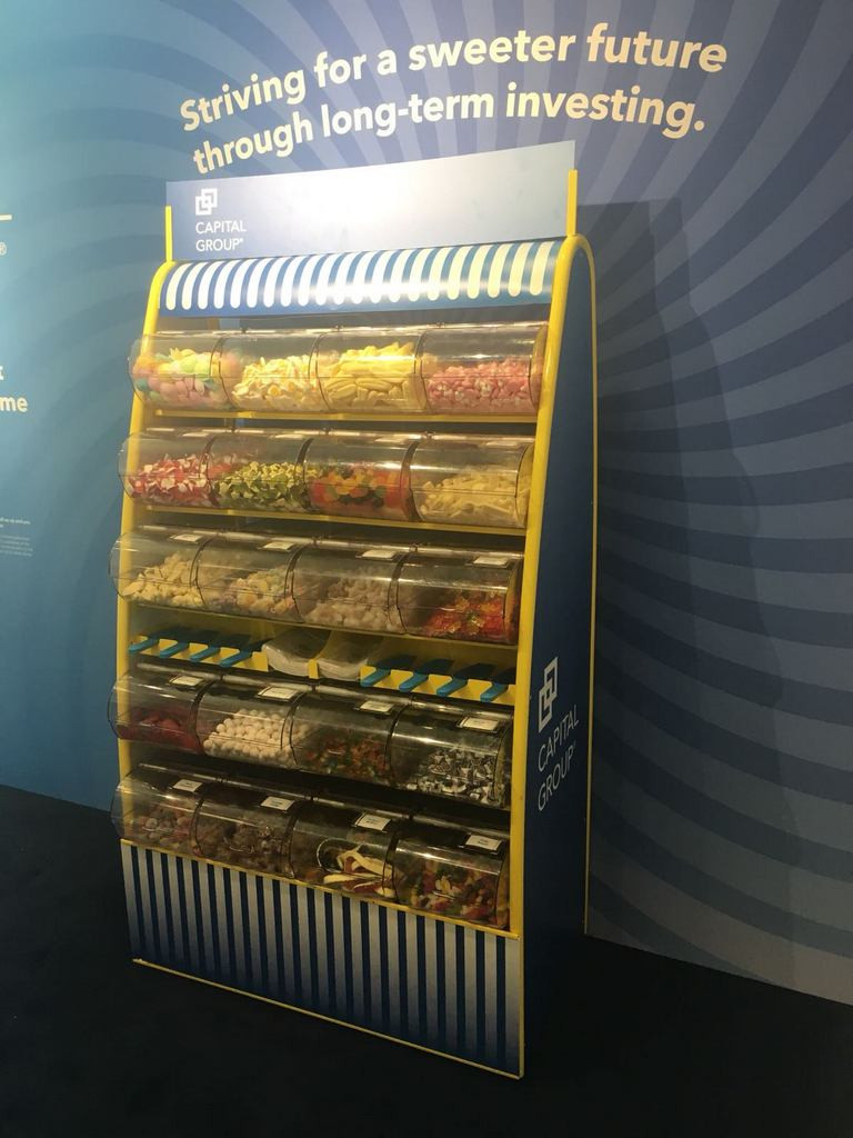 exhibition sweets hire