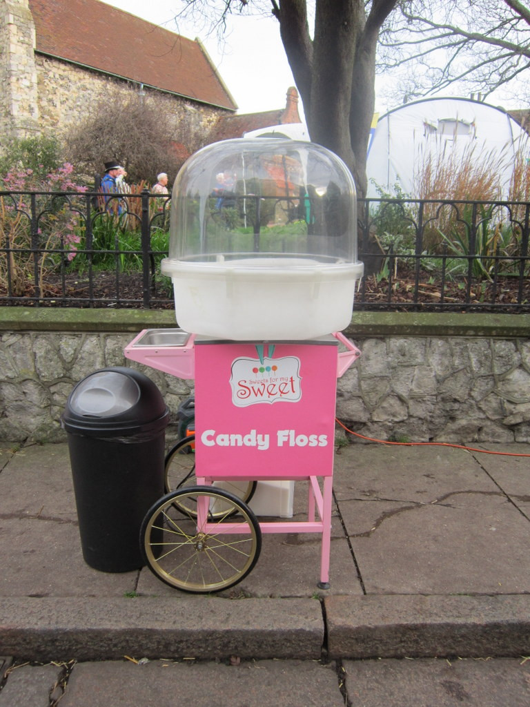 candy floss cart hire surrey