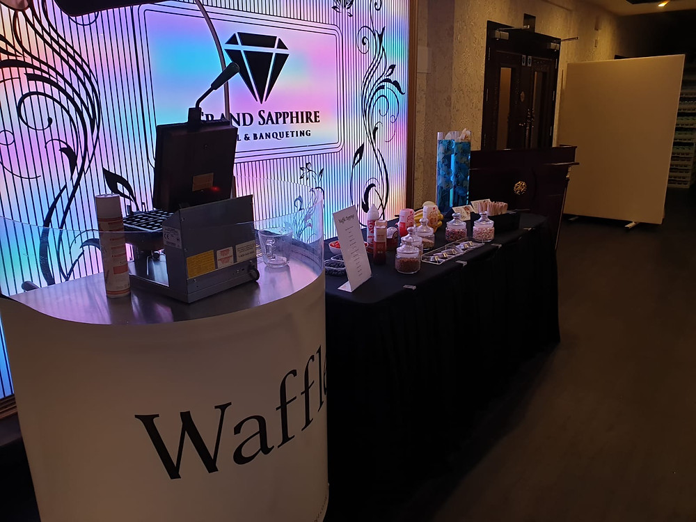 waffle cart hire events