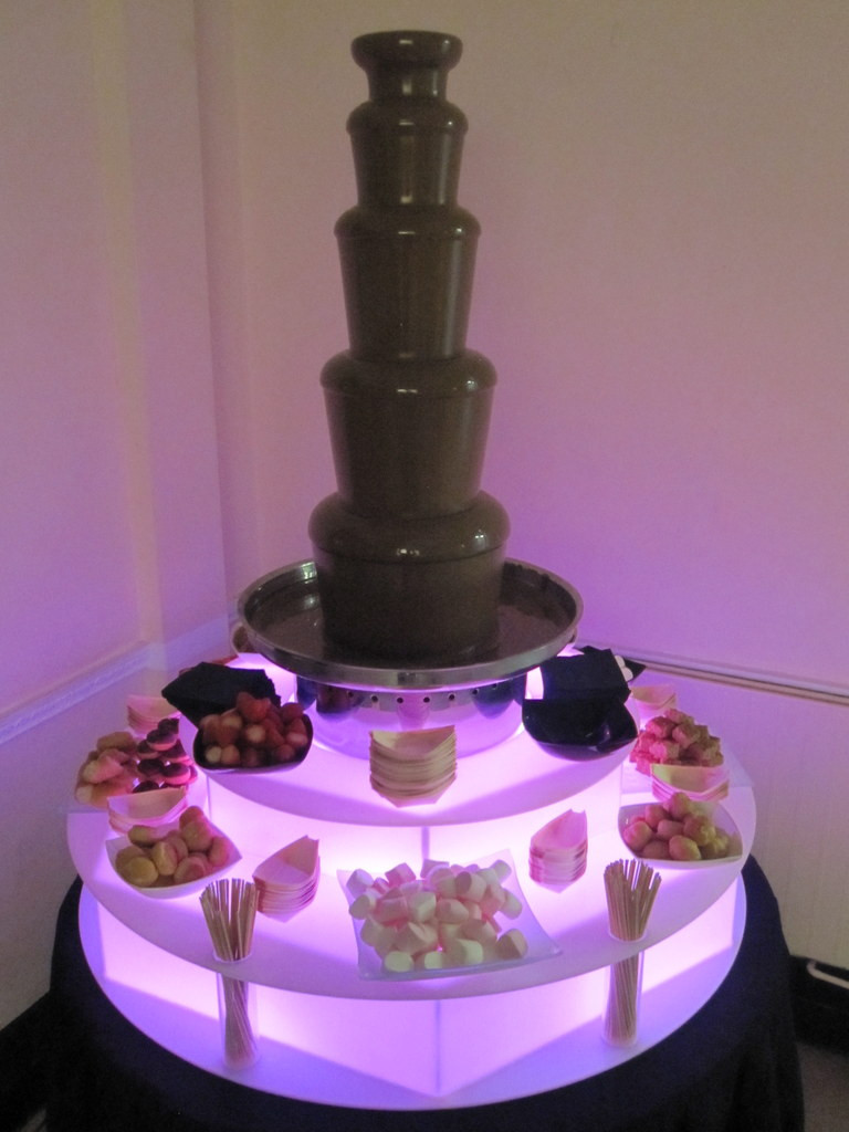 chocolate fountain hire manchester