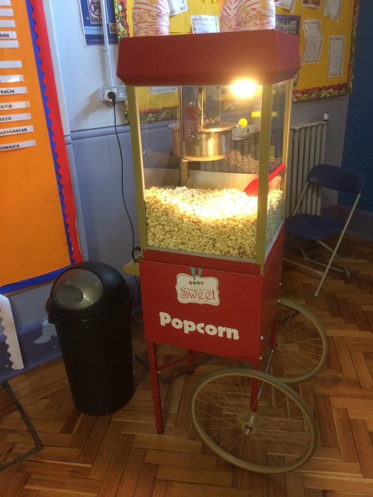 popcorn machine hire kent