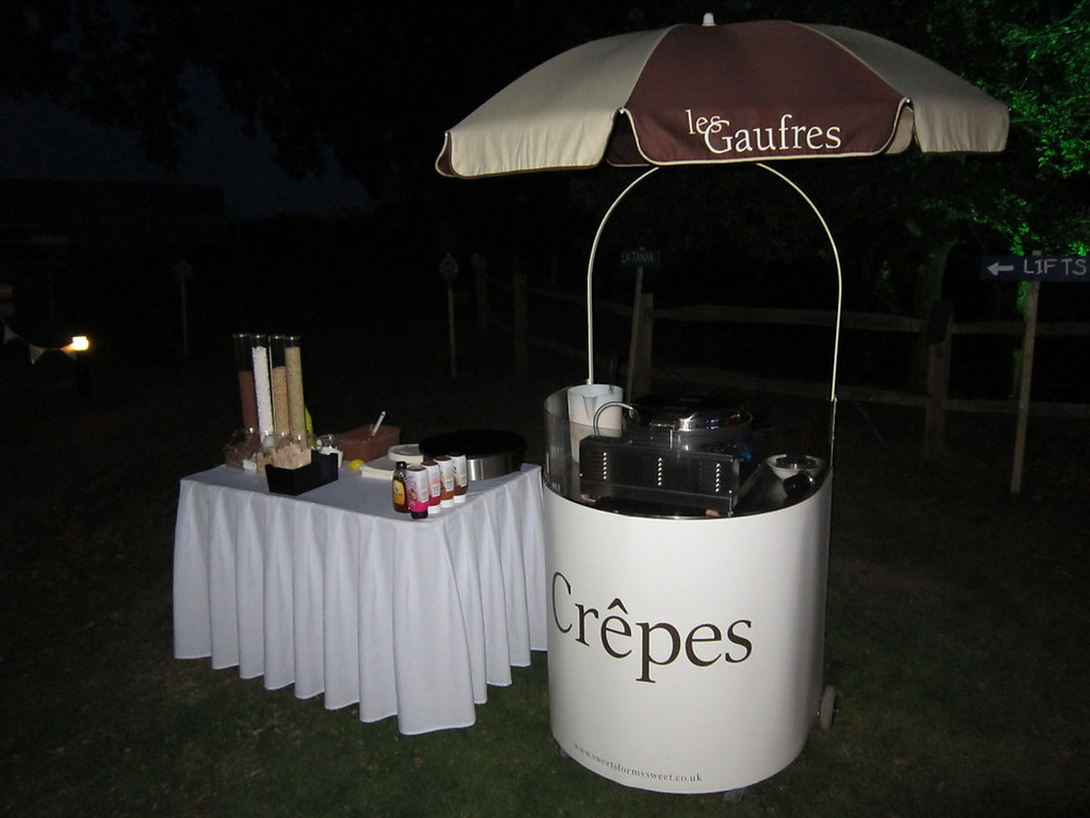 night crepe cart hire