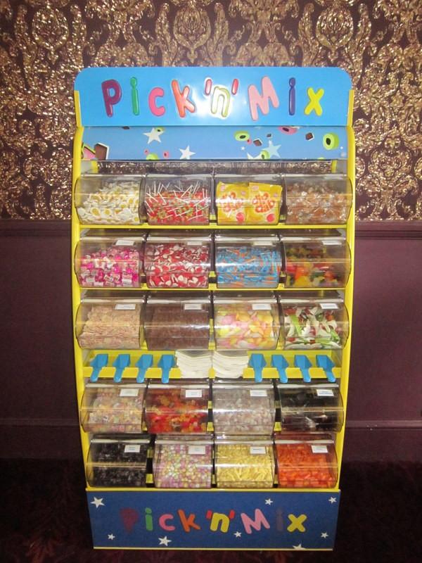 pick n mix sweets hire wedding
