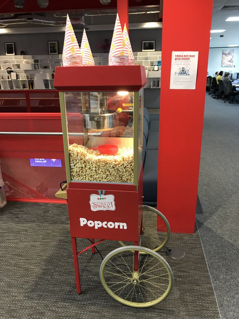 hire popcorn cart