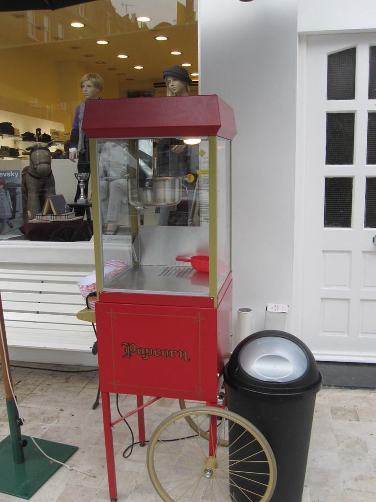 hire popcorn machine