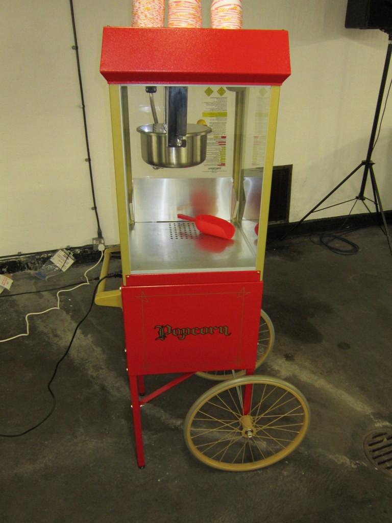 popcorn trolley rental