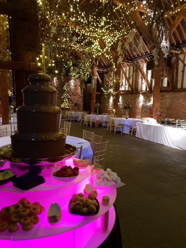 chocolate fountain hire booking
