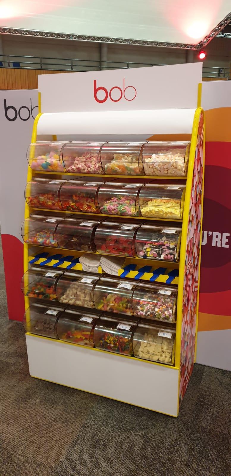 pick mix icc birmingham hire sweet stand
