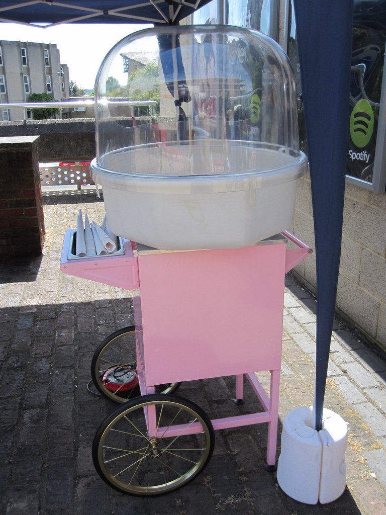 candy floss hire uk