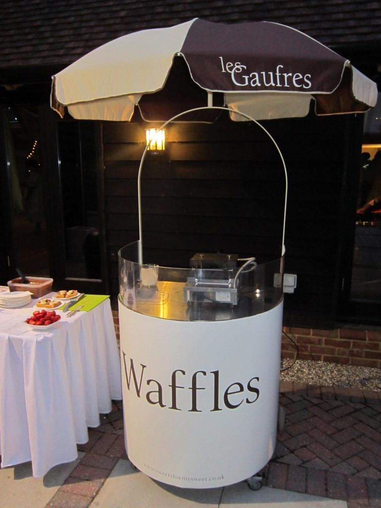 waffles cart hire london