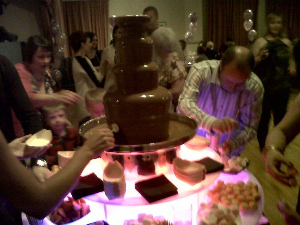 chocolate fountain hire liverpool